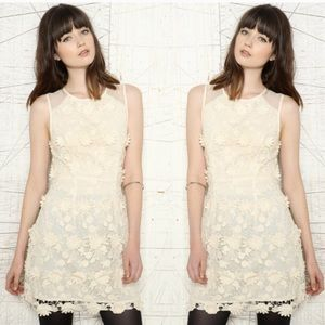 Anthropologie Dresses - Anthropologie Thistlepearl Lace Crochet Dress